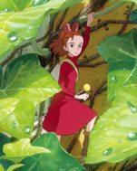 Arrietty entre as folhas