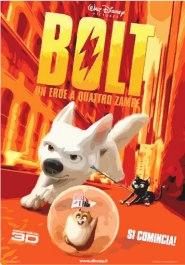 Locandina del film Bolt, un eroe a quattro zampe