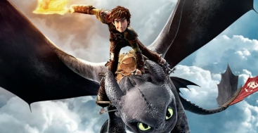 Hiccup e il drago Toothless