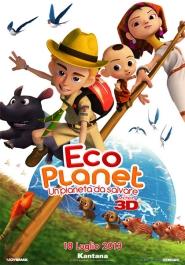 Italiaanse poster voor de film Eco Planet - A planet to save