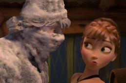霜で覆われたアンナとクリストフ-冷凍