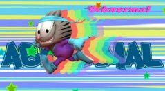 Abnermal - Garfield 3d super cat