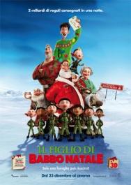 La locandina italiana Il figlio di Babbo Natale