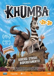 La locandina italiana di Khumba