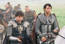 アーサー、ランスロットと騎士