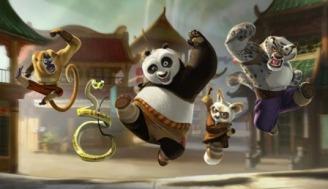 Les protagonistes de Kung Fu Panda sur l'attaque