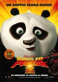 कुंग फू पांडा 2 का इतालवी पोस्टर
