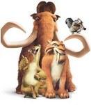 Diego, Manny, Sid and Scrat