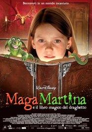电影《玛格玛蒂娜》的海报和小龙的魔法书
