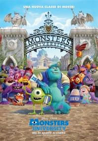 Locandina di Monsters University
