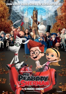 Locandina italiana Mr Peabody and Sherman