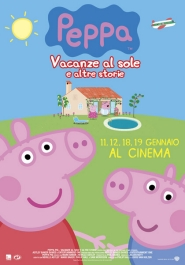 Peppa Pig-plakat ferier i solen og andre historier