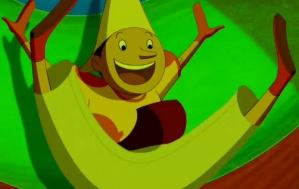 Pinocchio heeft plezier in het land van speelgoed - Pinocchio van Enzo D'Alò