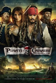 Italiaanse poster Pirates of the Caribbean - Beyond the Borders of the Sea