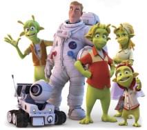Los personajes de la película Planet 51