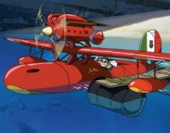 Il biplano di Porco Rosso