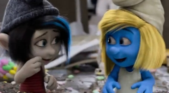 Los Pitufos 2 - la película animada