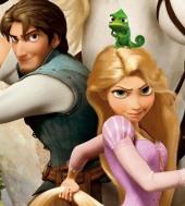 Rapunzel en Flynn