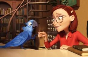 Linda e Blu - Rio o filme de animação