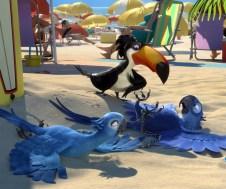 Blu e Gioiel - Rio o filme de animação