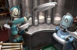 Robôs - Rodney e seu pai