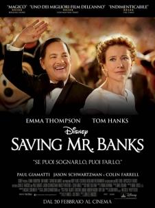 Locandina italiana del film Saving Mr Banks