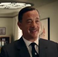 Walt Disney iterpretato da Tom Hanks