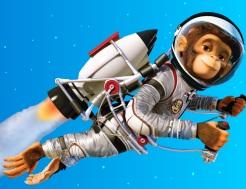 Jamón III - chimpancés espaciales