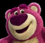 l'orsacchiotto rosa Lotso - Toy Story 3