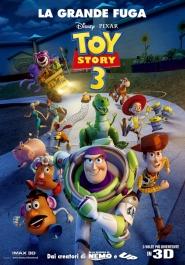 De Italiaanse poster van Toy Story 3 The great escape