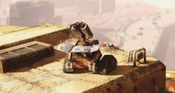 Wall-e es un robot que se regenera con energía solar