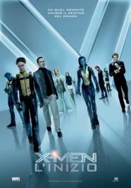 X-men het begin - Italiaanse poster
