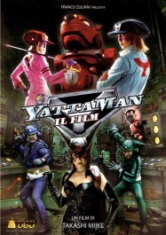 La locandina di Yattaman il film