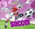 Looney Tunes online-spel om fotboll