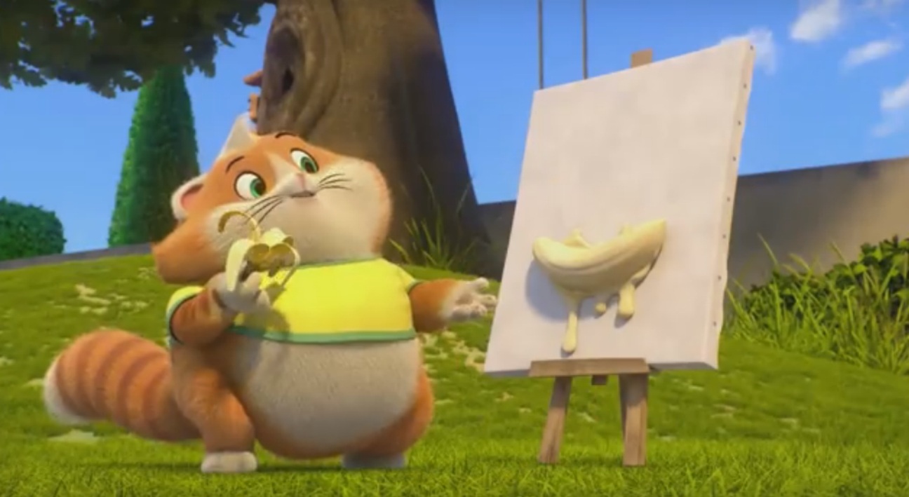 Albóndiga - 44 gatos - la serie animada