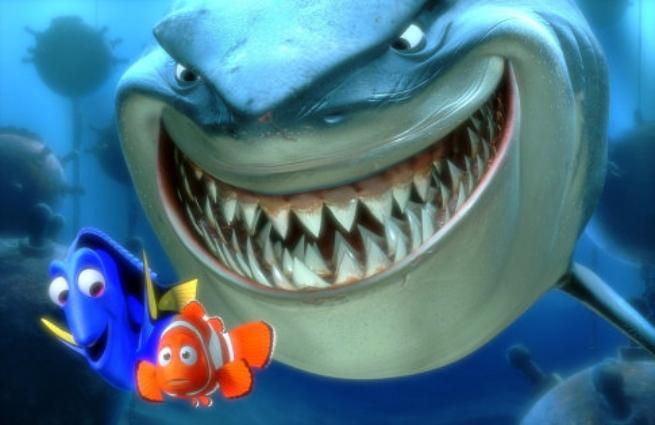 Marlin, Dory och hajen - Finding Nemo