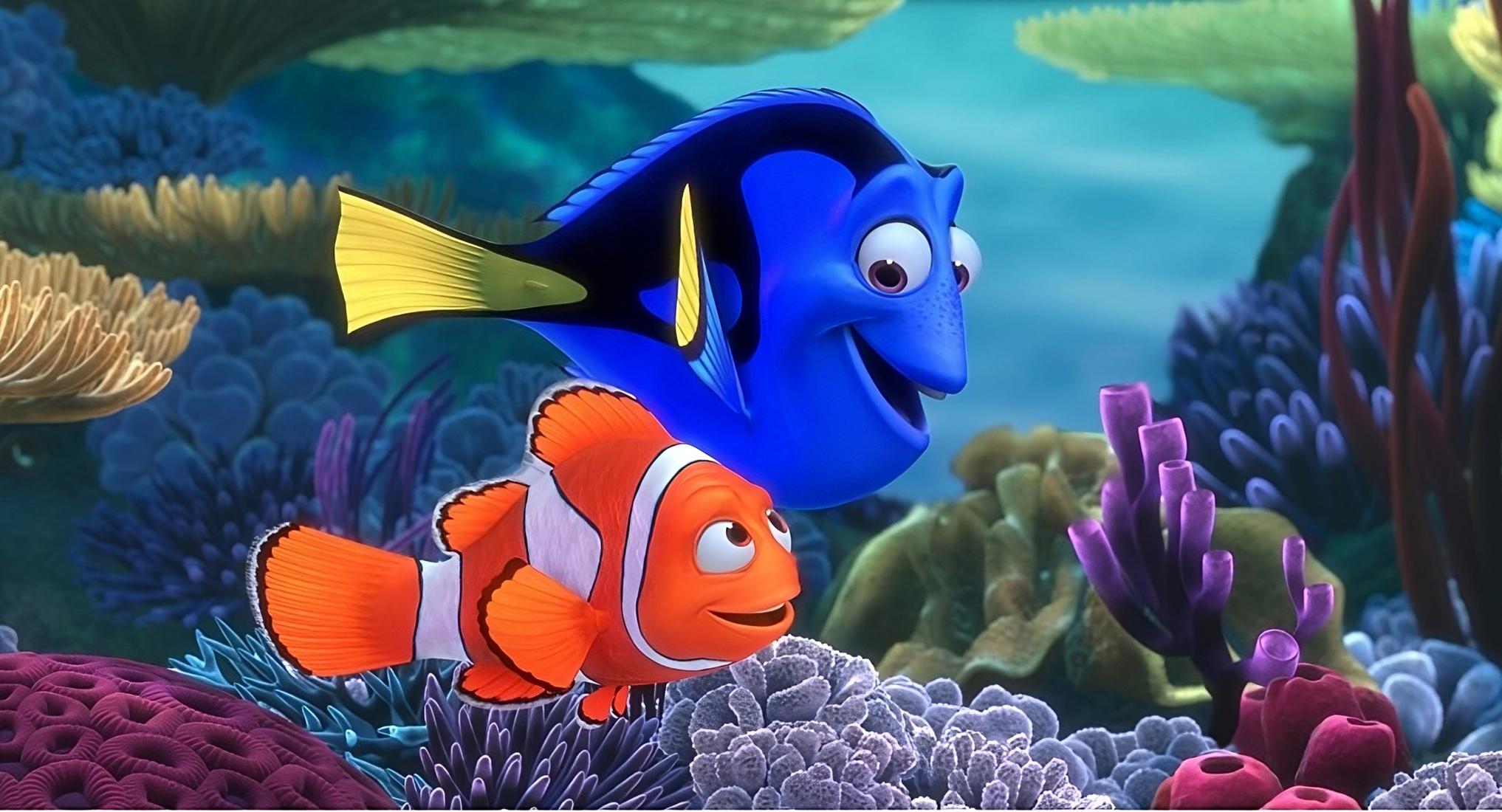 Marlin och Dory - Hitta Nemo