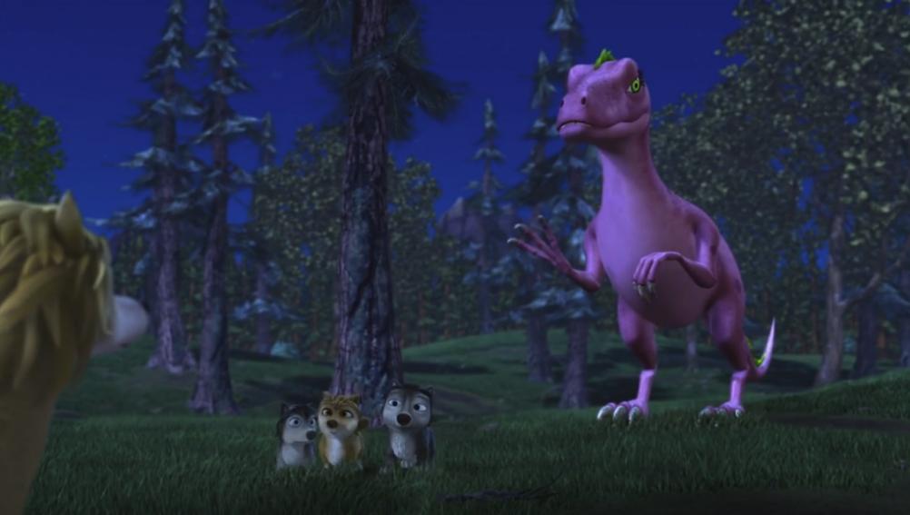 阿尔法与欧米茄:恐龙的归来