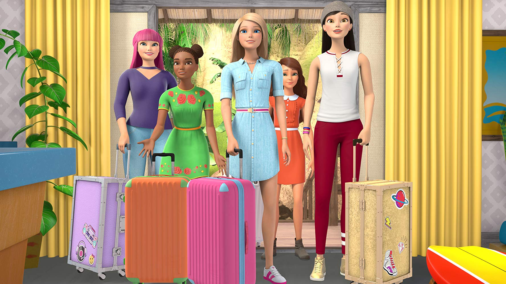 Barbie Dreamhouse Adventures - The animated series