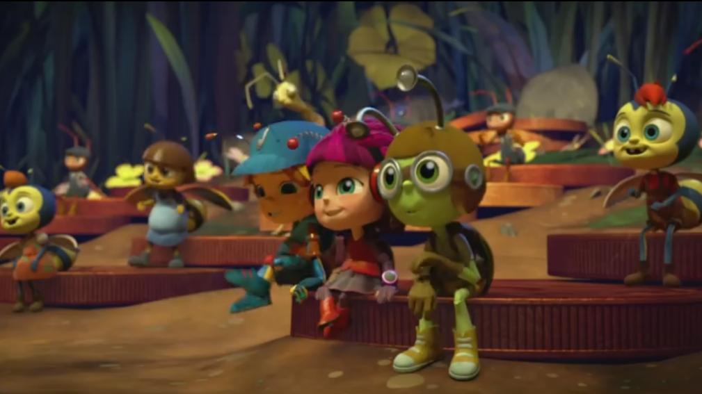 Beat Bugs - animoitu sarja
