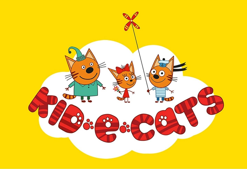 Pudding, Chica och Biscuit - Kid-E-Cats - Sweet kattungar