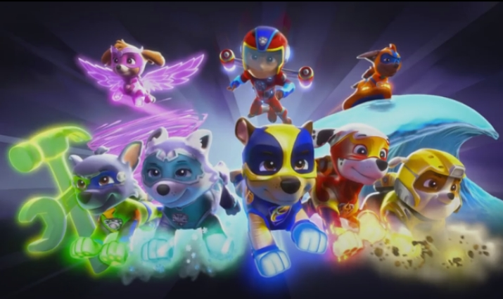Paw Patrol Mighty Pups The Super Puppies Movie 2019