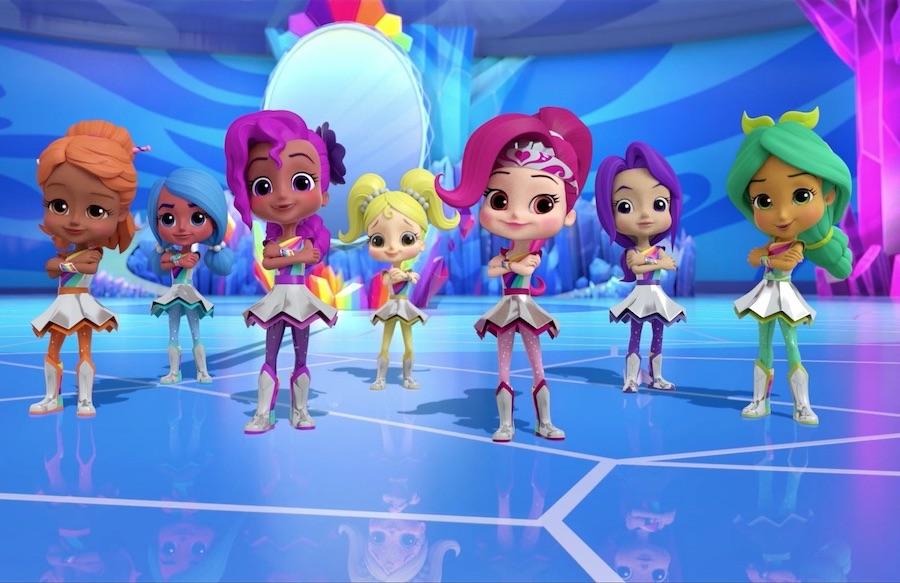Rainbow Rangers - A série animada