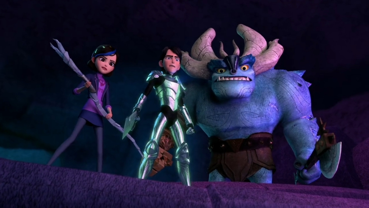 Trollhunters: Tales of Arcadia, the animated series