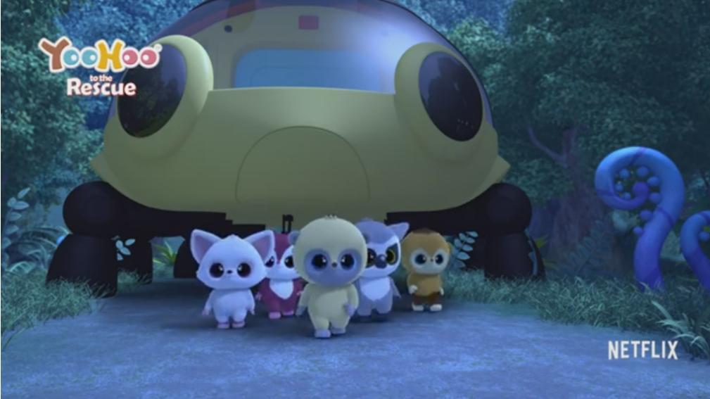 Yoo - Hoo al Rescate y Fuzzly