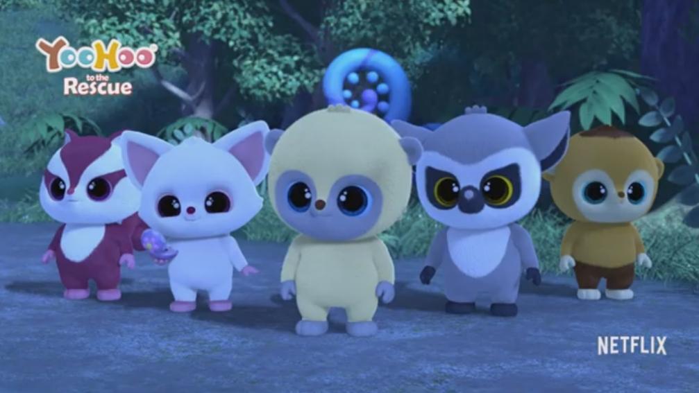 Yoo - Hoo to the Rescue, la serie animada