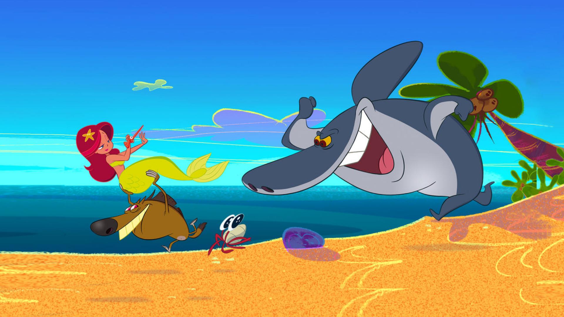 Zig sharko la serie animata