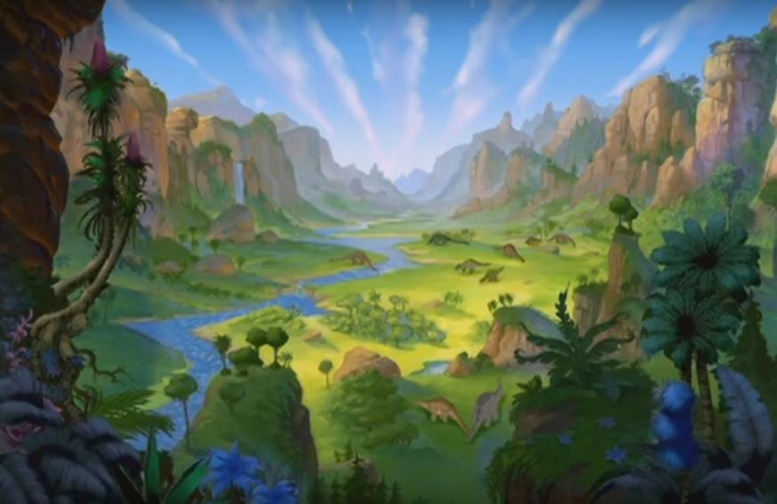 Op zoek naar de Enchanted Valley 11 - The invasion of minisauri