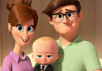 Ted ja Janice Templeton kanssa Baby Boss