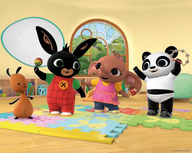 Bing och hans vänner; Sula, Pando och Flop
